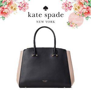 NWT Kate Spade Shirley Large Double-Zip Satchel